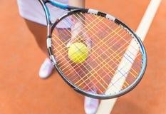 网球员 免版税库存照片