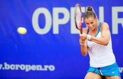 网球员Sorana Carstea 免版税库存图片