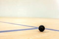 黑网球在木法院说谎 库存照片
