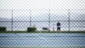 网球场比赛体育活动 股票录像