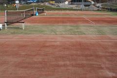 网球场纹理 免版税库存照片