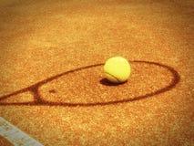 网球场 免版税库存图片