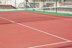网球场 库存照片