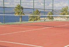网球场 库存图片