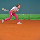 网球学校 库存图片