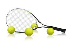 网球拍 库存照片