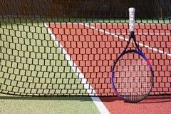 网球拍 免版税库存照片
