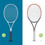 网球拍 免版税库存图片