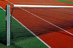 网球的8综合性运动场 免版税库存照片