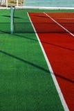 网球的6综合运动场 库存图片