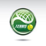 网球符号 免版税库存照片