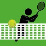 网球设计 库存图片