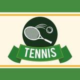 网球设计 免版税库存图片