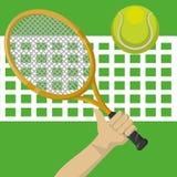 网球设计 免版税图库摄影