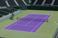 网球露营地 免版税库存图片