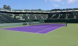 网球露营地 库存图片