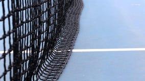 网球,蓝色,白色和黑颜色滤网  股票视频