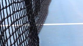 网球,蓝色,白色和黑颜色滤网  影视素材