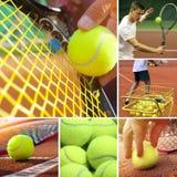网球concept.horizontal图象 库存图片