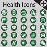 网站和互联网象医学健身 库存图片