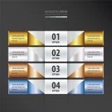 网站梯度样式的设计横幅 皇族释放例证