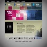 网站模板 免版税图库摄影