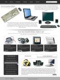 网站模板27 免版税库存图片