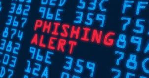 """网络安全专业术语†""""phishing的戒备 免版税库存照片"""