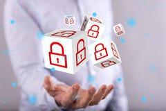 网络安全的概念 免版税库存图片