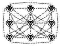 网络服务社交 免版税图库摄影