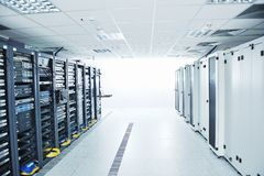 网络服务系统空间 库存图片