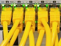 网络电缆 库存图片