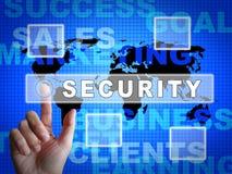 网络证券市场系统保障3d例证 向量例证