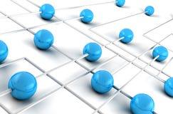 网络连接 库存图片