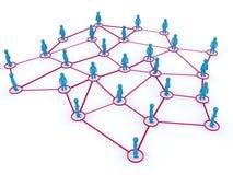 网络连接 图库摄影