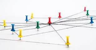 网络,网络,连接,通信 图库摄影