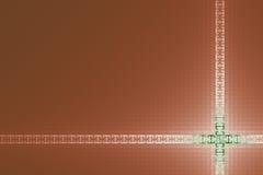 网背景的创造性的方格的设计 免版税库存图片
