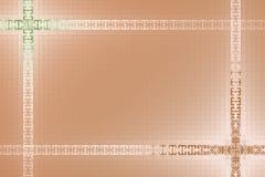 网背景的创造性的方格的设计 免版税库存照片