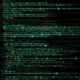 网计算机编码摘要背景 免版税库存图片