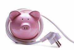 网路银行和储款概念 免版税库存图片