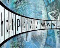 网际地址 免版税图库摄影