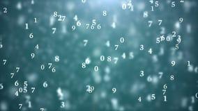 网际空间数字世界 库存例证
