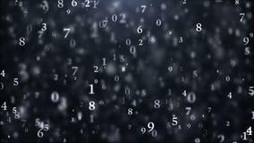 网际空间数字世界 向量例证
