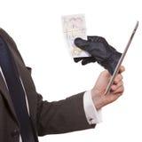 网络偷窃 免版税图库摄影