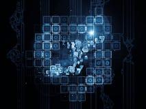 网络数字式生活  免版税图库摄影