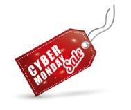 网络星期一电子商务促进和销售 库存例证
