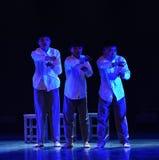 网络瘾校园舞蹈 免版税库存图片