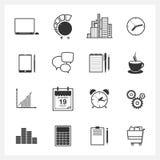 网络设计对象的象汇集 向量 库存图片