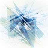 网络设计的蓝色背景 免版税库存图片