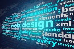 网络设计 免版税图库摄影